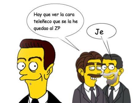 Aznar y Rajoy ponen verde aZP